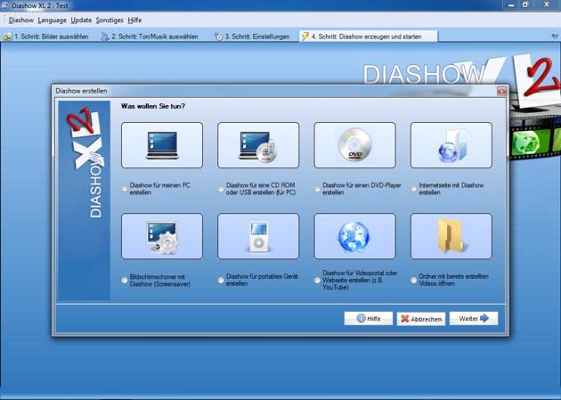 Diashow erstellen mit Musik